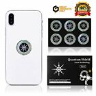 EMF Protection Cell Phone Shield Sticker Silver (6pc), Radiation Protection for