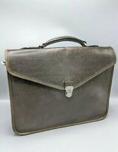 Mulberry Slim Laptop Bag/Briefcase in Brown Leather