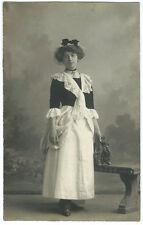 Photo carte compagnie Franco-Belge Marseille - jolie provençale vers 1910