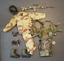 "1:6 Custom Navy SEAL Sniper Uniform Lot 12"" GI Joe BBI Dragon DAM Toys BHD"