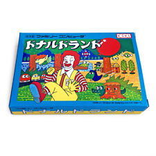 DONALD LAND McDonald - Empty box replacement spare case Famicom game with tray