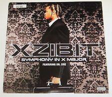 "XZIBIT symphony in x major DR DRE 12"" RECORD PROMO"