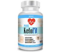 Best Keto Fit Weight Loss Diet Pills Ketogenic Supplement BHB Ketofit Ketosis 60
