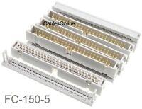 CablesOnline FC-140 2-Pack 40-Pin Male IDC Flat Ribbon Cable Connectors