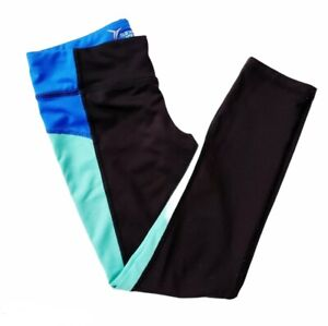 Old Navy Active Girl's Workout Athletic Leggings Black Blue Casual Comfortable