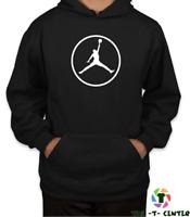 MICHAEL JORDAN BASKETBALL HOODIE  The Bulls NBA Retro Coby Gift - Mens Boys