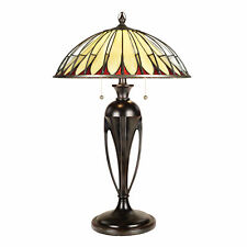 Quoizel alahambre Lampe de table 2 x 60W E27 220-240V 50Hz CLASSE I