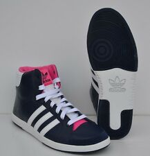 Chaussure femme ADIDAS ORIGINALS COURT SIDE HI W  MARINE T: 42  UK 8  Ref:V24343