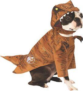 Tyrannosaurus Rex Dinosaur Dog Costume - M - T-Rex - Jurassic Park/World - NWT