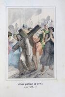 histoire Sainte de l'ancien et du nouveau testament en gravures 1860
