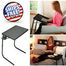 Adjustable Laptop Notebook Computer Table Desk Hold Stand Tiltable TV Food Tray