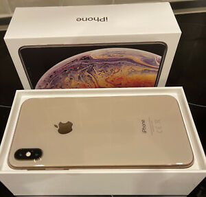 Apple iPhone XS Max gold 256 GB excellent Condition Unlocked