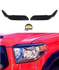 Eyelids eyebrows for Toyota Tundra 2013-2017 Headlights Covers eyelash