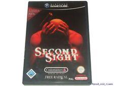 # SECOND SIGHT (tedesco) Nintendo GameCube/GC GIOCO-TOP #