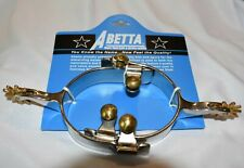 """Abetta """"All Around"""" Western Spurs - Women's/Youth - 10 point rowel"""