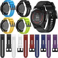 Silikon Quickfit Armband Uhrenarmband Strap für Garmin Fenix 5 5 Plus GPS Watch