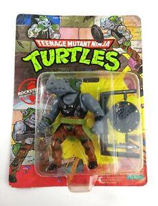 1988 Teenage Mutant Ninja Turtles ROCKSTEADY Unpunched 10 Back
