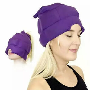 Headache and Migraine Relief Cap - A Headache Ice Mask or Hat used for Migraines