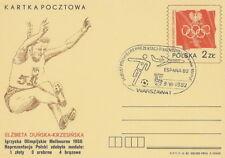 Poland postmark WARSZAWA - sport football FIFA World Cup airplane