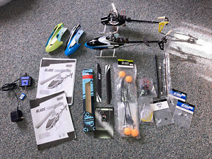 Blade 300 cfx helicopter lots of parts and upgrades Lot Of 2
