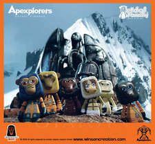 "WINSONCREATION  - APEXPLORERS  - 3"" Mini Figures BOX SET - WINSON MA - RARE"