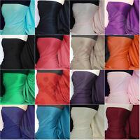 Premium Quality Heavyweight Plain Scuba stretch poly lycra fabric Q792