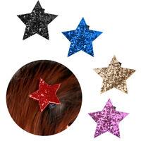 """accessoires pour cheveux bébé """" barrette séguin barrette des paillettes star"""