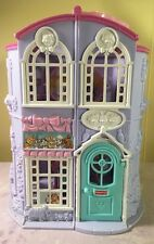 Fisher Price Sweet Streets Dollhouse Pet Parlor House Only X-ray Vet Doctor Toy