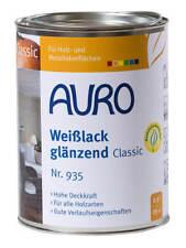 Auro Weißlack glänzend Classic Nr. 935 2 5 L