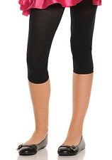 Capri Length Leggings,  New,  Elegant Moments, Black