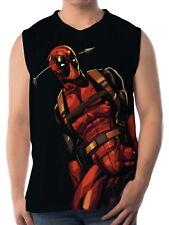 Deadpool Men Vest Sleeveless Singlet Tank Top a16 aao40680