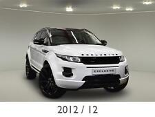 "2012 12 Land Rover Range Rover Evoque 2.2 SD4 Pure 5dr 22"" & Exclusive Styling"