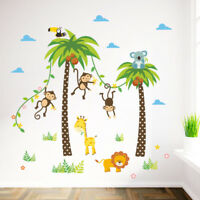 Removable Vinyl Wall Decal Nursery Stickers Kids Baby Room DIY Home Decor Animal