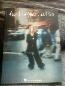 Avril Lavigne. 'Let Go' Guitar ,Piano, with vocals Sheet music/Song Book