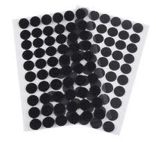 30 Paar Klettpunkte selbstklebend 15 mm Klettverschluss Schwarz Klettband