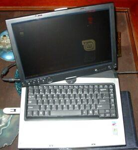 Gateway M280E Tablet Intel Pentium M Processor 1.73GHz 2GB Ram No HDD/PS
