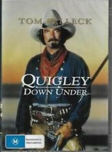 Quigley Down Under - DVD - Free Shipping. - New