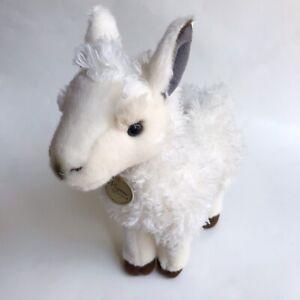 Baby Llama Plush Miyoni by Aurora Stuffed Animal 10 inch Realistic Detailed