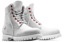 TIMBERLAND SERPENT WHITE  LIMITED A1P9Q100 6 INCH WATERPROOF BOOTS SOLD OUT 8.5