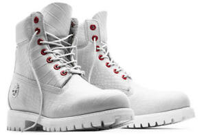TIMBERLAND SERPENT WHITE  LIMITED A1P9Q100 6 INCH WATERPROOF BOOTS SOLD OUT 7.5