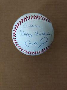 CAL RIPKEN JR. AUTOGRAPHED AUTO SIGNED RAWLINGS OFFICIAL MLB BASEBALL WITH COA