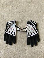 Kenny Moore Carolina Panthers Game Used And Signed Official NFL Football Gloves