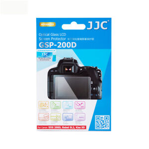 JJC Optical Glass LCD Screen Protector Film for CANON EOS RP 200D 200DII 250D