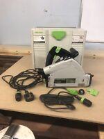 Festool TS55 REBQ 240V Circular Plunge Saw Relisted Due To Timewaster