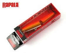 Leurre Rapala Jointed J-11 GFR Gold Fluorescent Red 110 mm 9 grs Babelbaits