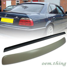 Unpainted BMW E38 7 Series Rear Roof Spoiler & Lip Trunk Spoiler Wing 95-01