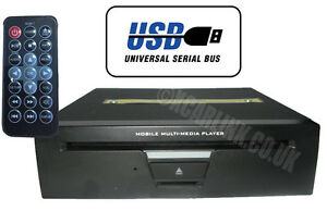 Car 3/4 DIN DVD Player with USB/SD Card Playback Support MP3 AVI DVX YUV Video
