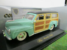 FORD WOODY de 1948 vert au 1/43 d YATMING 94243A voiture miniature de collection