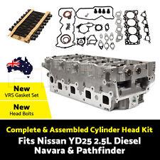 Complete Cylinder Head Kit Fits Nissan YD25 2.5L Diesel- Navara & Pathfinder AU