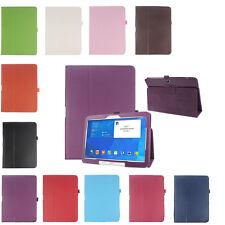 """Folio Cuir Étui Protecteur Étuis De Protection Für Samsung Galaxy Tab 4 10.1"""""""